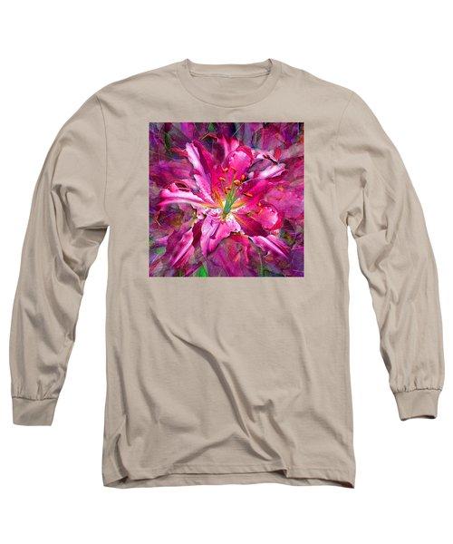 Star Gazing Stargazer Lily Long Sleeve T-Shirt