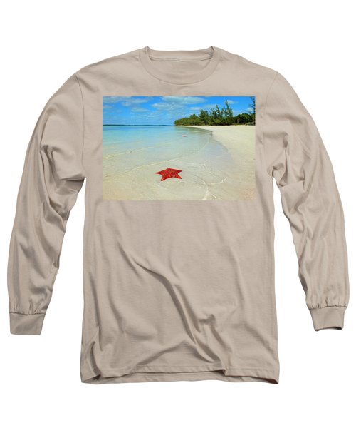 Starfish 5 Of Bottom Harbour Sound Long Sleeve T-Shirt