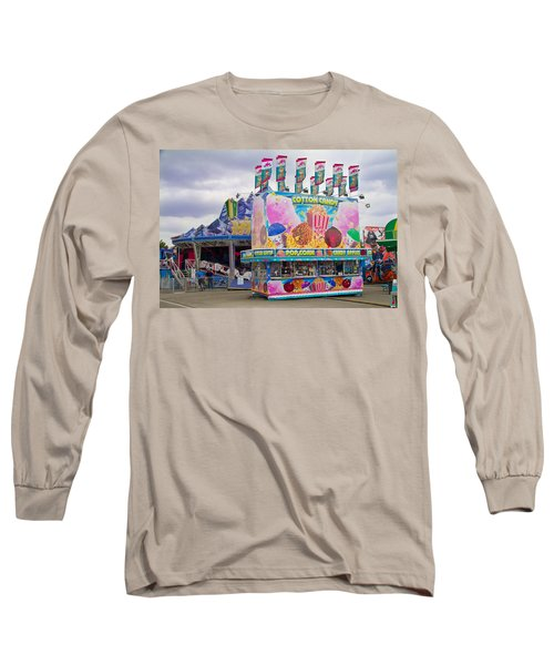 Long Sleeve T-Shirt featuring the photograph State Fair by Steven Bateson