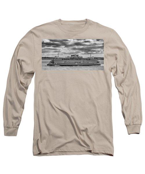 Staten Island Ferry 10484 Long Sleeve T-Shirt