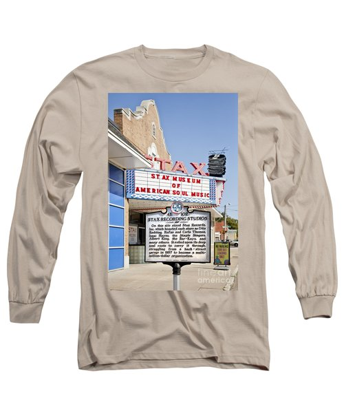 Stax Long Sleeve T-Shirt by Liz Leyden