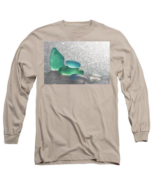 Stay Close Long Sleeve T-Shirt by Barbara McMahon