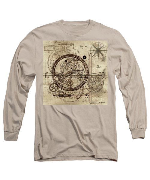 Steampunk Dream Series IIi Long Sleeve T-Shirt by James Christopher Hill