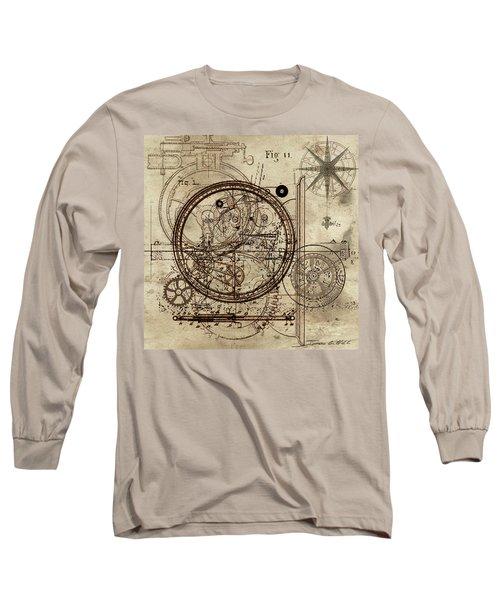 Steampunk Dream Series IIi Long Sleeve T-Shirt