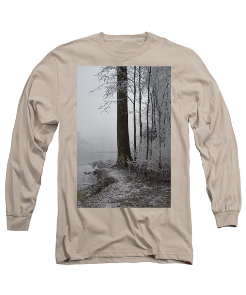 Steep And Frost Long Sleeve T-Shirt by Felicia Tica