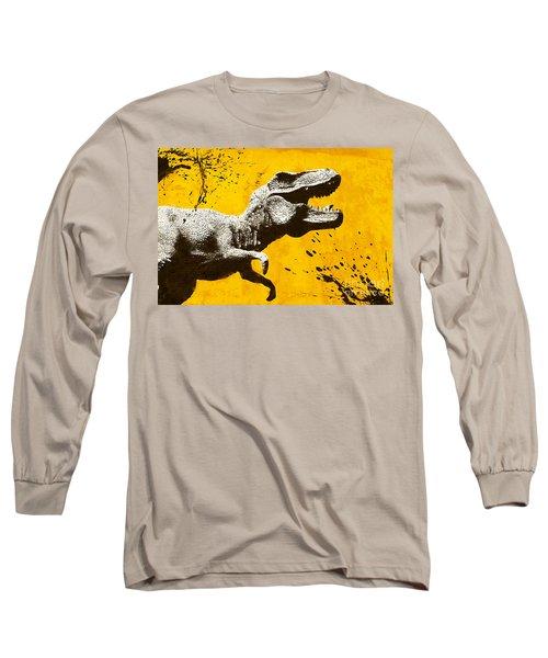 Stencil Trex Long Sleeve T-Shirt