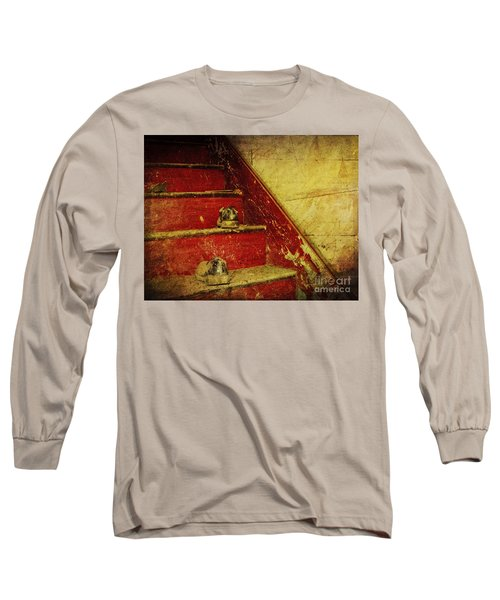 Long Sleeve T-Shirt featuring the photograph Step Back In Time by Debra Fedchin