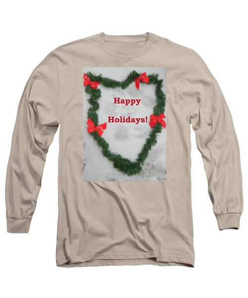 Long Sleeve T-Shirt featuring the photograph Stepping Into The Holidays by Emmy Marie Vickers