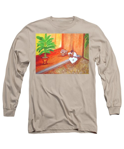 Steve While On Safari In South Africa Long Sleeve T-Shirt