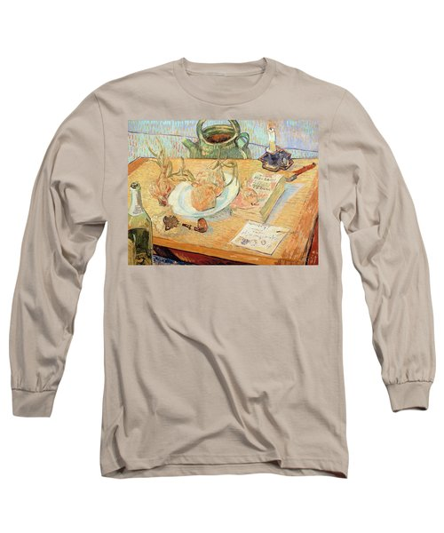 Still Life With Onions Long Sleeve T-Shirt
