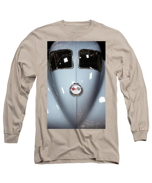 Vintage Long Sleeve T-Shirt featuring the photograph '63 Sting Ray  by Aaron Berg
