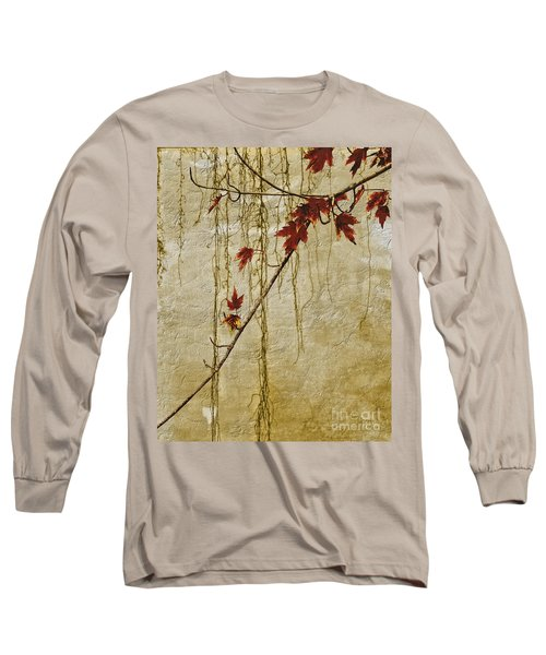 Stone Walled Long Sleeve T-Shirt by Andrea Kollo