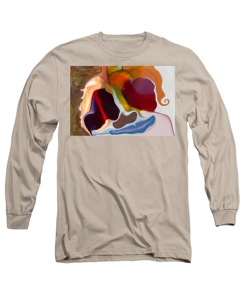 Long Sleeve T-Shirt featuring the painting Stoned by Omaste Witkowski