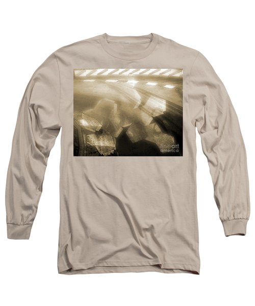 Stood A Man On The Corner. Long Sleeve T-Shirt