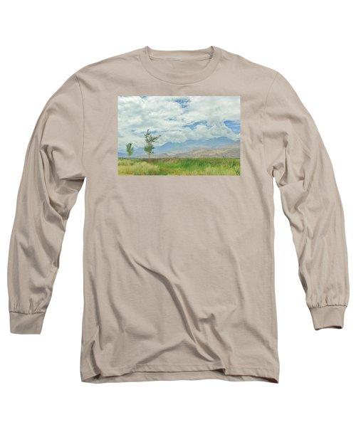 Stormin Long Sleeve T-Shirt by Marilyn Diaz