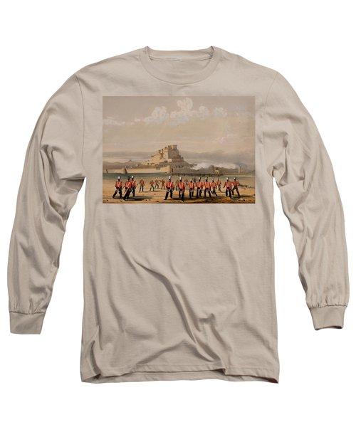 Storming Of Khelat, The Advance Long Sleeve T-Shirt