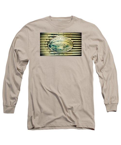 Stout Metal Airplane Co. Emblem Long Sleeve T-Shirt by Susan Garren