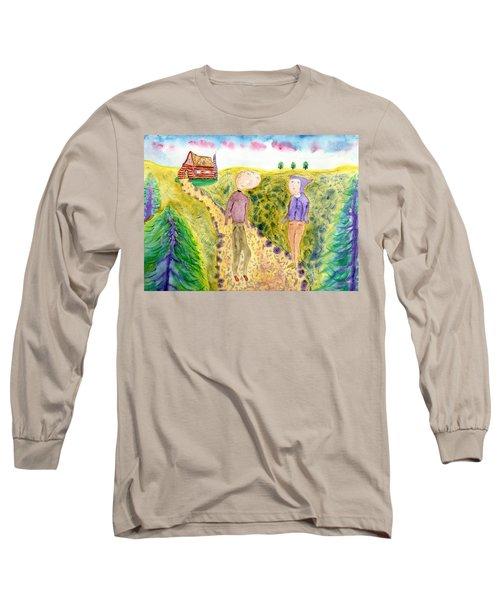 Cabin Trail Long Sleeve T-Shirt
