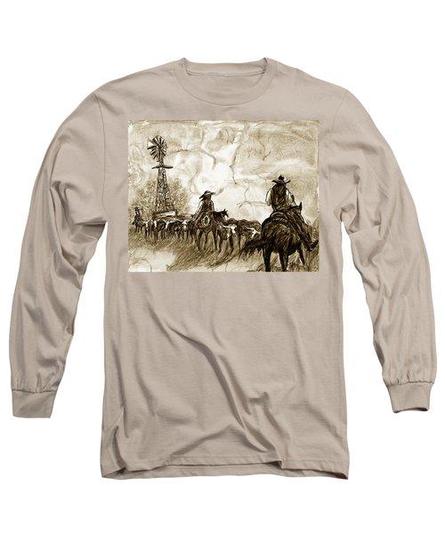 Strange Sky Long Sleeve T-Shirt