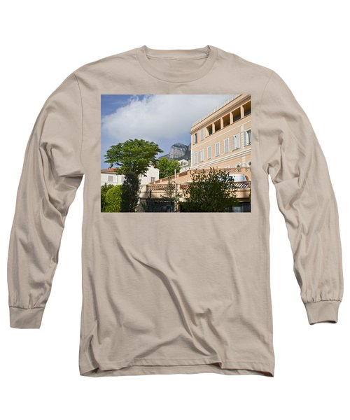 Long Sleeve T-Shirt featuring the photograph Street Of Monaco by Allen Sheffield