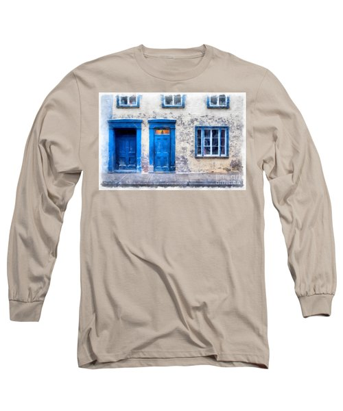 Streets Of Old Quebec 2 Long Sleeve T-Shirt