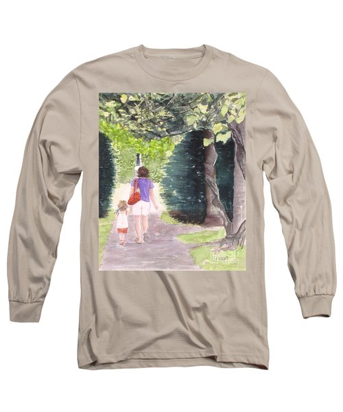 Strolling With Mom Long Sleeve T-Shirt