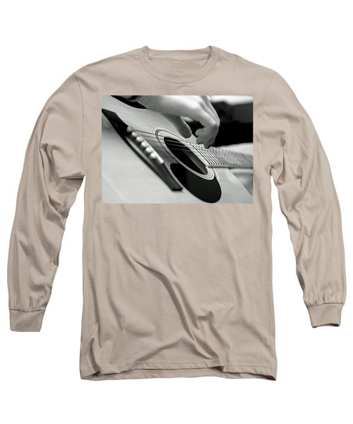 Strum Long Sleeve T-Shirt by Lisa Phillips
