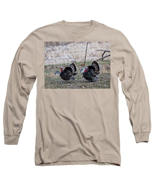 Strutting Turkeys Long Sleeve T-Shirt
