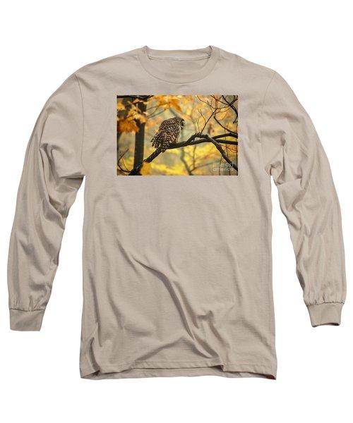 Stubborn Owl Long Sleeve T-Shirt