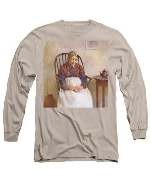 Study Of An Elderly Lady Long Sleeve T-Shirt