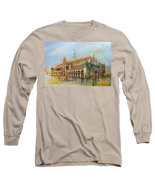 Sukiennice In Cracow Long Sleeve T-Shirt