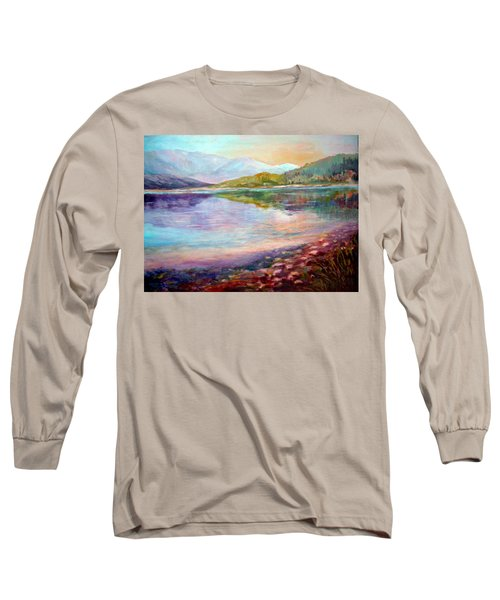Summer Afternoon Long Sleeve T-Shirt by Sher Nasser