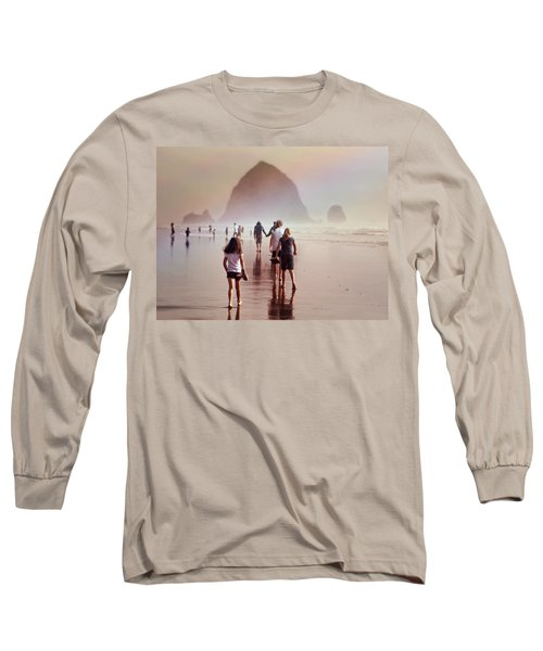 Summer At The Seashore  Long Sleeve T-Shirt