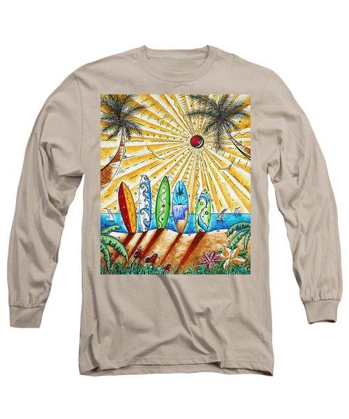 Summer Break By Madart Long Sleeve T-Shirt