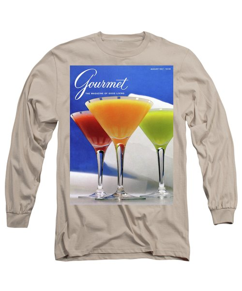 Summer Cocktails Long Sleeve T-Shirt