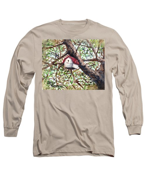 Long Sleeve T-Shirt featuring the painting Summer Home by Shana Rowe Jackson