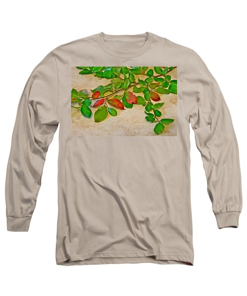 Long Sleeve T-Shirt featuring the photograph Summer Leaves by Johanna Bruwer