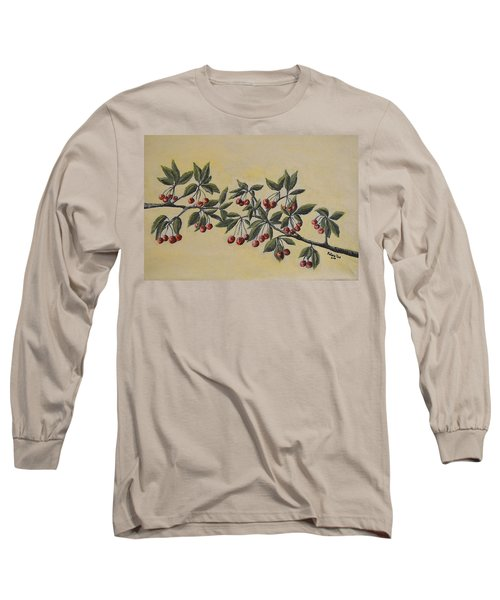 Summer Stay... Long Sleeve T-Shirt by Felicia Tica