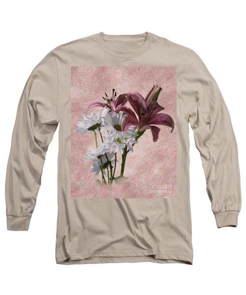 Summer Wild Flowers 3 Long Sleeve T-Shirt