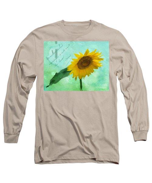 Summer's Beauty Long Sleeve T-Shirt