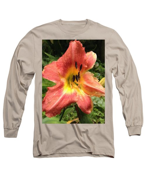Sun Day Lilly  Long Sleeve T-Shirt