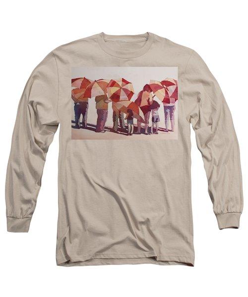 Sun Drenched Parasols  Long Sleeve T-Shirt