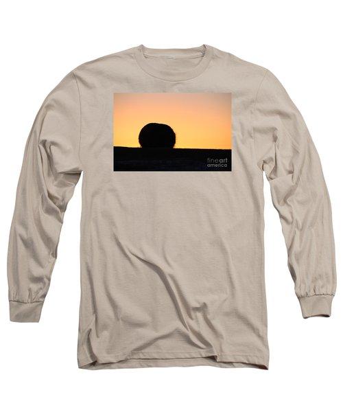 Sun Rise Silhouette Long Sleeve T-Shirt