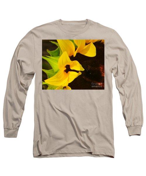 Sun Worshipper Long Sleeve T-Shirt by Joy Hardee