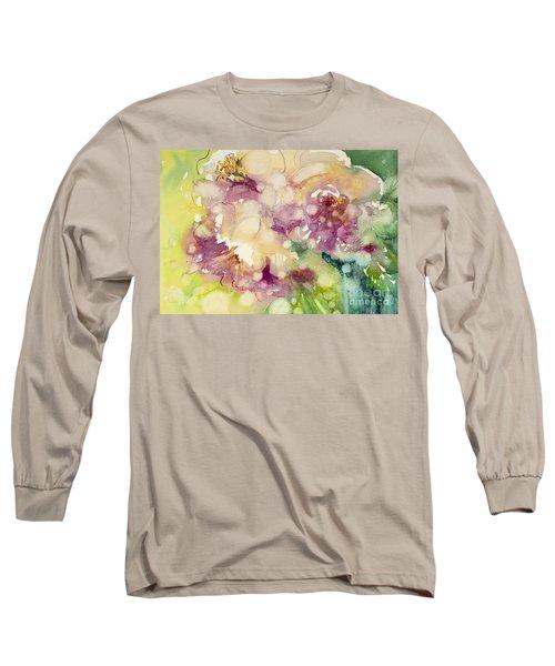 Sundappled Rose Long Sleeve T-Shirt
