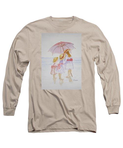 Sunday Best At The Beach Long Sleeve T-Shirt by Elvira Ingram