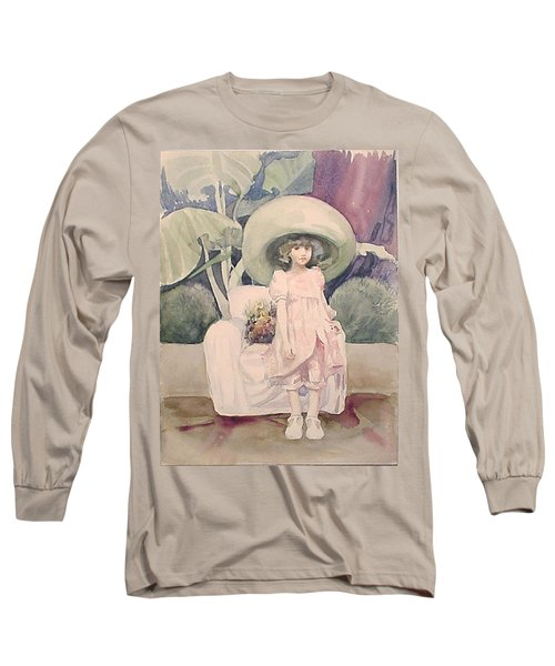 Long Sleeve T-Shirt featuring the painting Sunday Morning by Marina Gnetetsky
