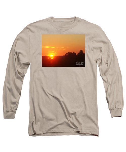 Sundown Long Sleeve T-Shirt by Jasna Dragun