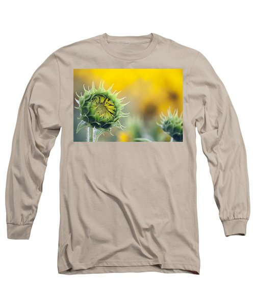 Sunflower Bloom Long Sleeve T-Shirt