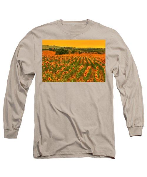 Sunflower Dream Long Sleeve T-Shirt